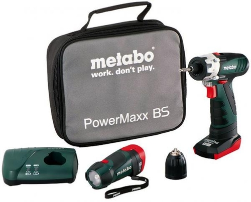 Busilica akumulatorska PowerMax 10.8 set(sifra1678) Metabo