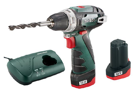 Bušilica akumulatorska PowerMaxx BS Basic Metabo kutija(1464)